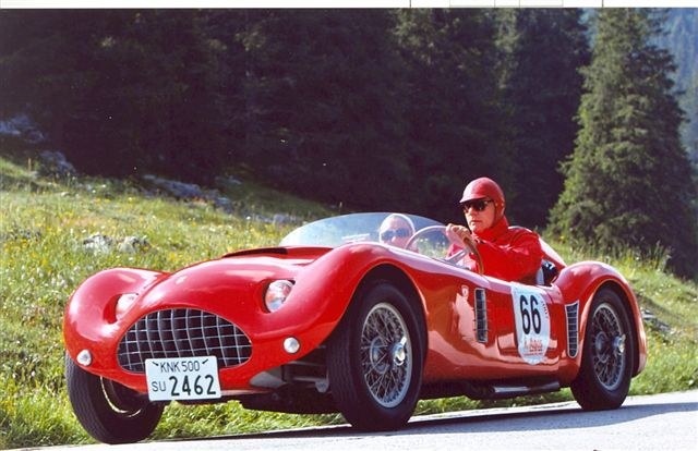 Bandini Maserati Barchetta Sports Cars