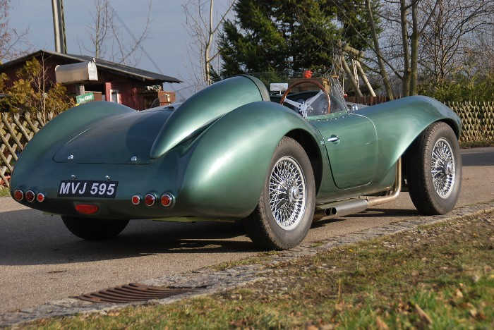Aston Martin Db3 S Barchetta Sports Cars