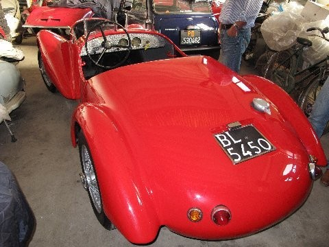 Fiat 1100 Sport Barchetta Barchetta Sports Cars